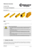 Maintenance Instructions Conductor Rails   all copper rail applications